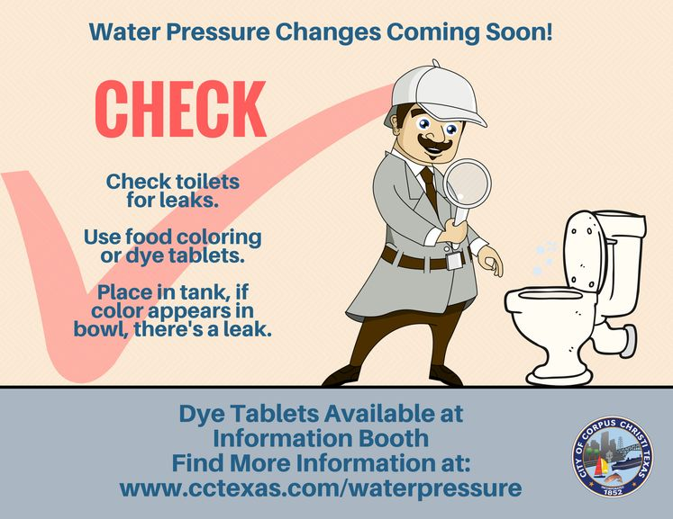 Check Water Pressure Changes