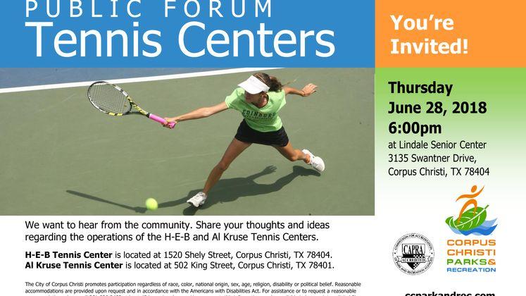 Tennis Public Forum