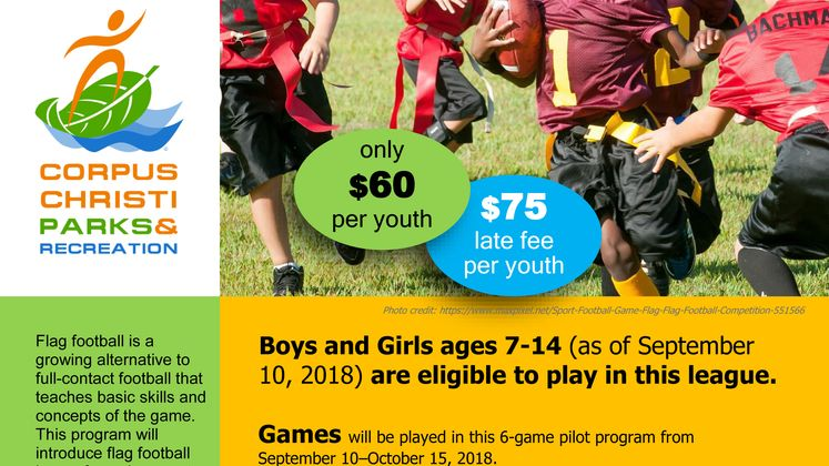 Youth Football Flyer