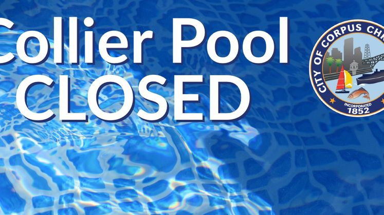 Collier Pool Closed