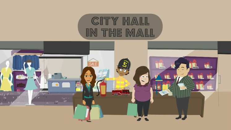 City Hall in the Mall Coming Up