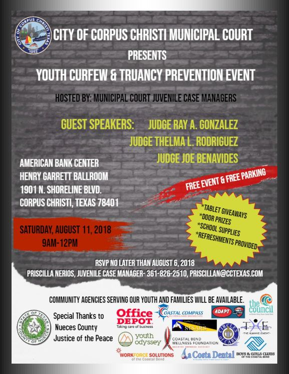 Muni Court Youth Curfew Conference