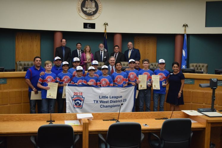 Corpus Christi National Little League Baseball Team