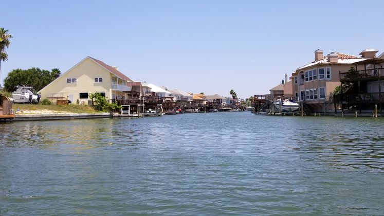 Padre Island Canals