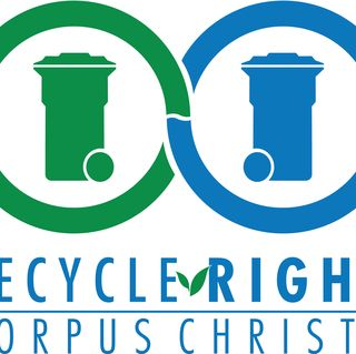 Recycle Right Character Helps Keep Danger Out of the Blue Cart