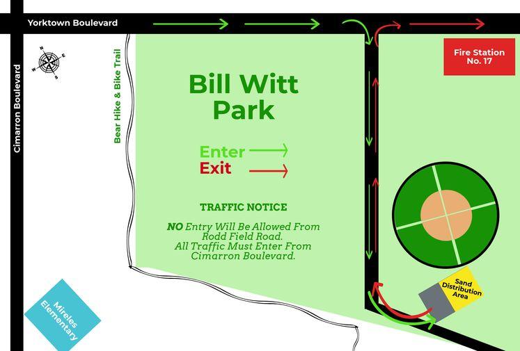 Bill Witt Park Map