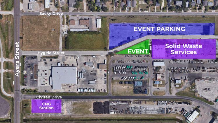 Sandbagger Demo Event Map