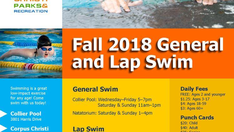 General Lap Swim Flyer