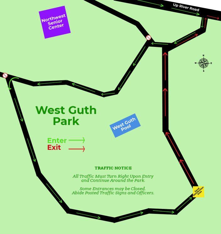 West Guth Park Map