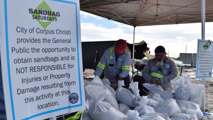 Sandbag Distribution
