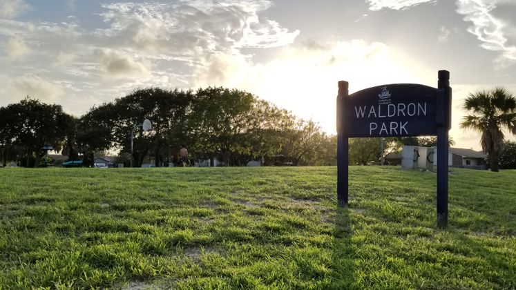 Waldron Park at Dusk