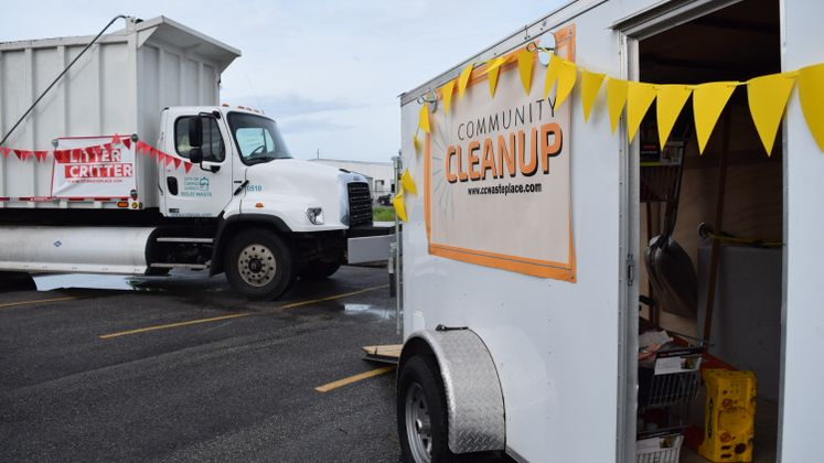 Community Cleanup Trailer and Litter Critter Programs