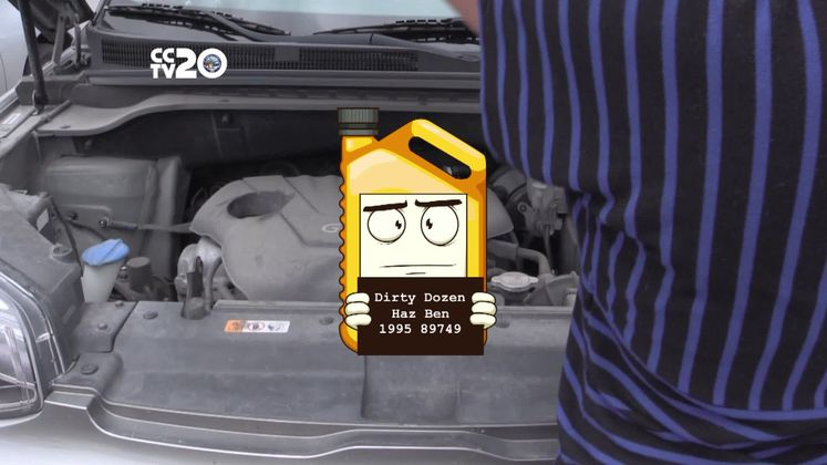 Haz Ben is Hazardous Waste