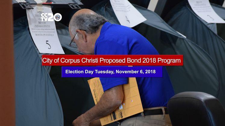 City of Corpus Christi Proposed Bond 2018 Program
