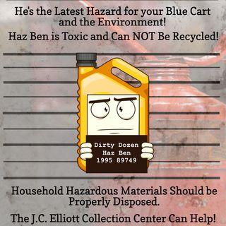 El nuevo personaje de la campaña Recycle Right ayuda a mantener el peligro fuera del contenedor azul