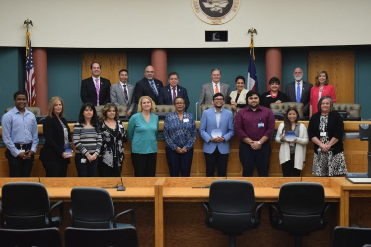 Communication Department Recognized for City Hall in the Mall Event