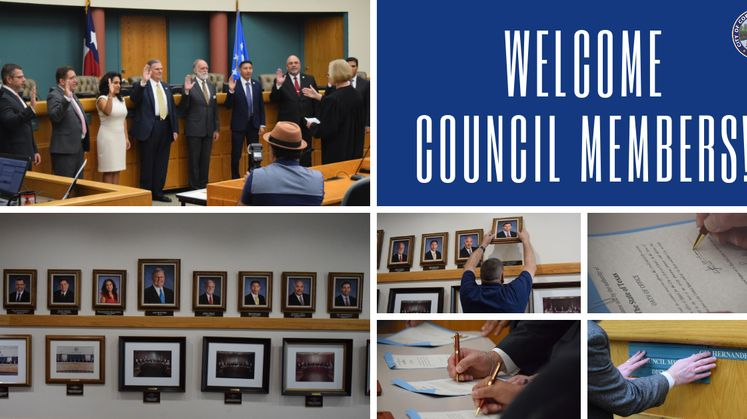WELCOME COUNCIL MEMBERS