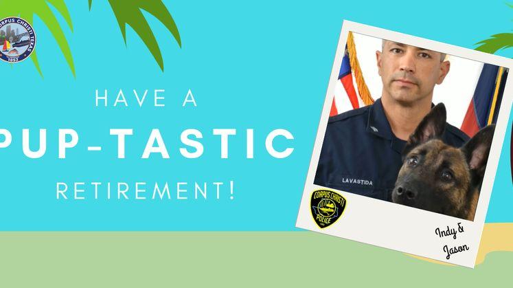 K-9 Officer Retires
