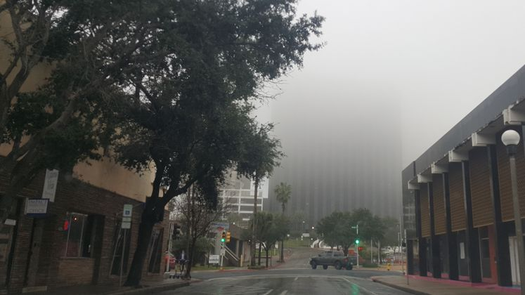 Fog Setting in Downtown