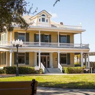 The Galvan House at Heritage Park