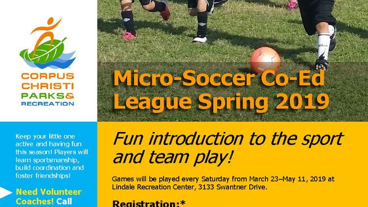 2019 Mico Soccer Flyer