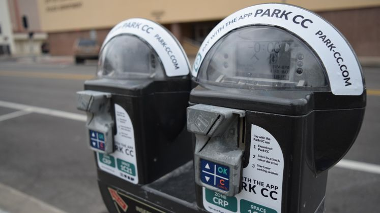 Pay with the APP Parking Meters