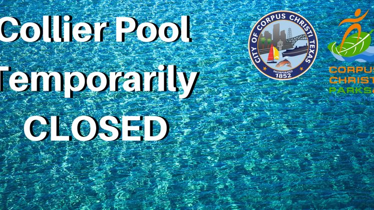 Collier Pool Temporarily Closed