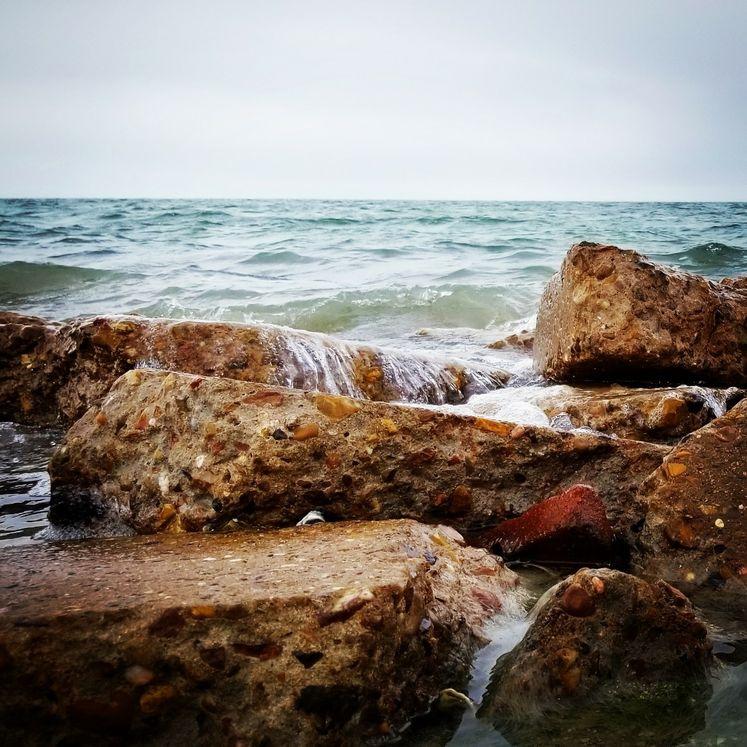 Waves Breaking at Corpus Christi Bay