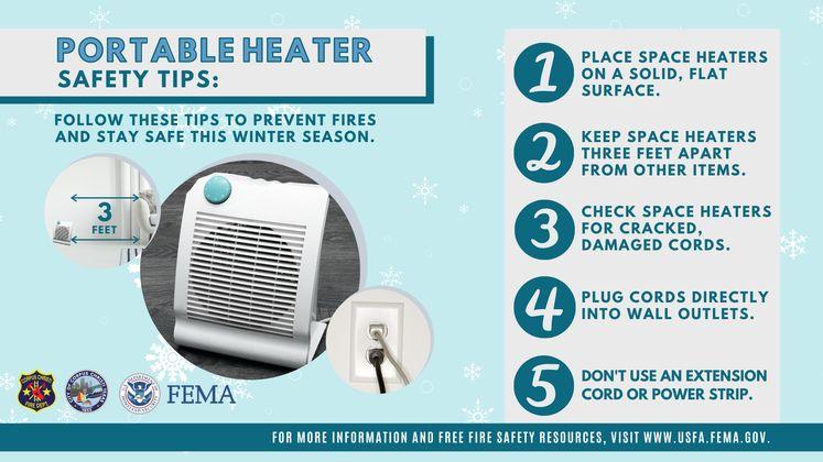 Heater Safety Tip