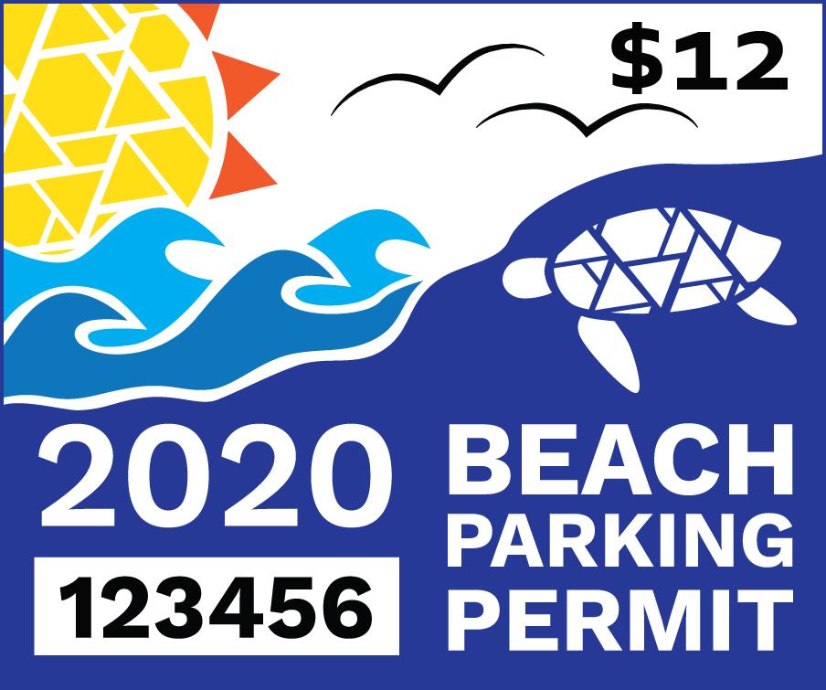 2020 Beach Parking Permit