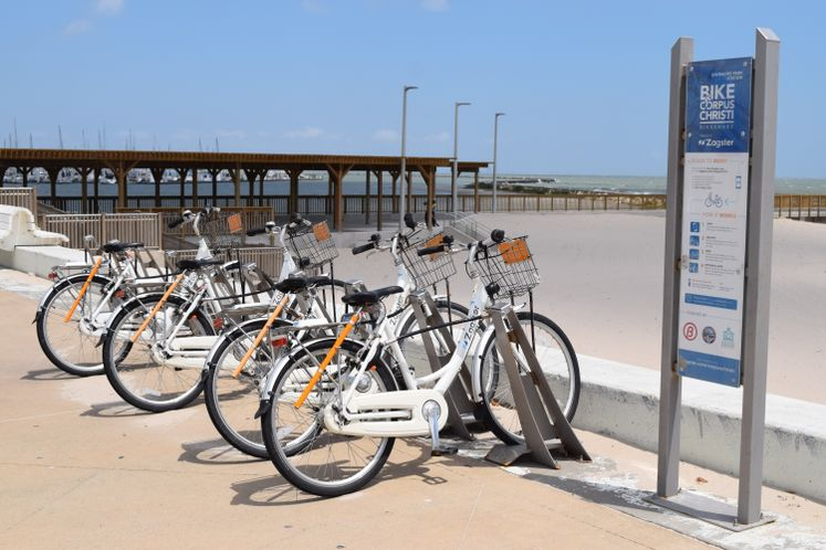 Bike Share at Water's Edge Park