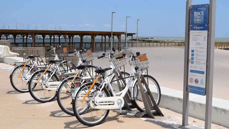 Bike Share at Water's Edge Park