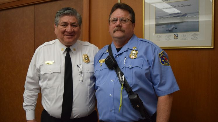 CCFD Capt. K. Terry Celebrates 40 Yr Service to the City