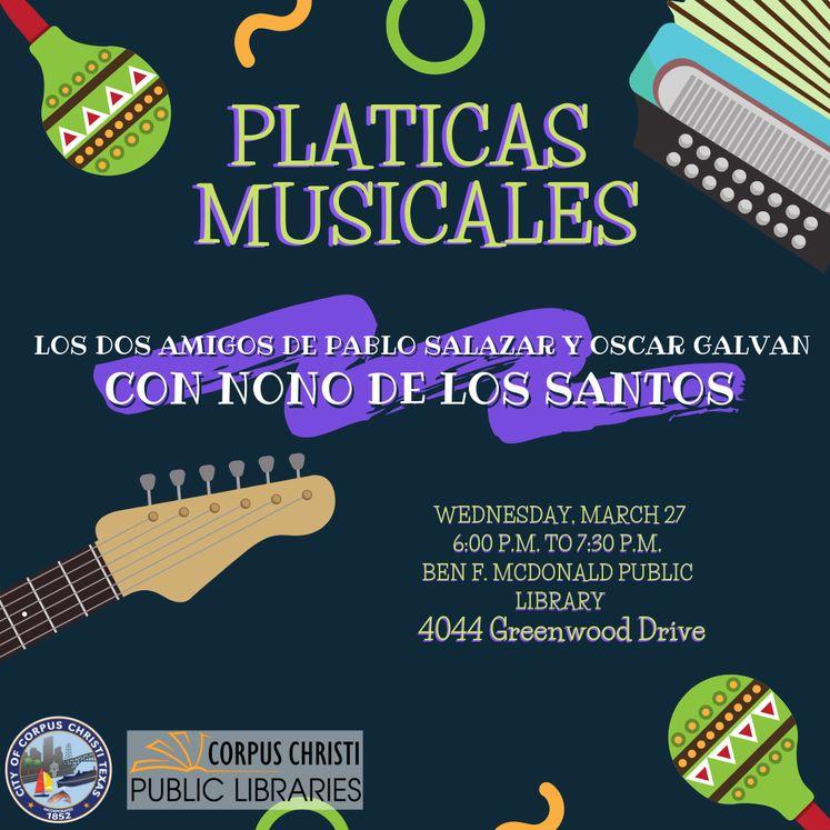 Graphic 3-21-19 Platicas Musicales March
