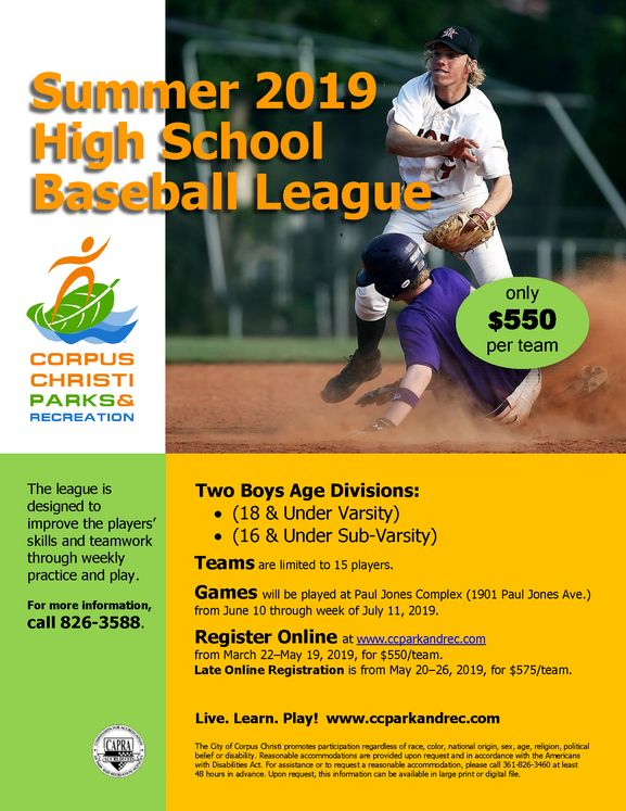 Baseball League Flyer