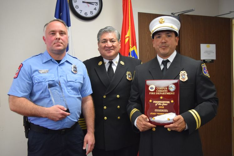 CCFD's Inspector and Firefighter of the Year Awards