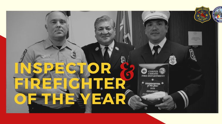 Inspector and Firefighter of the Year