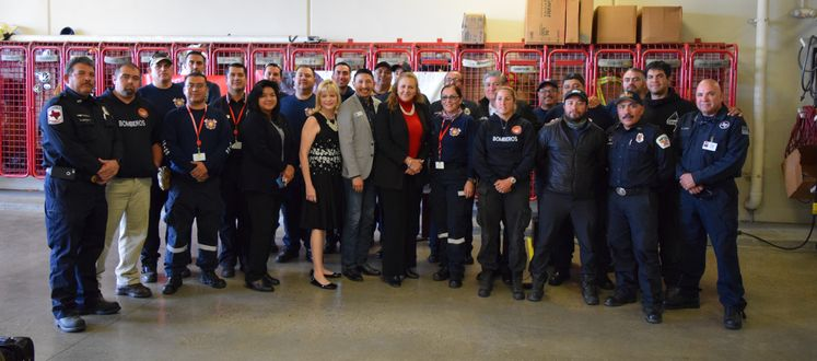 CCFD R. Rocha Welcomes Mexico Delegation