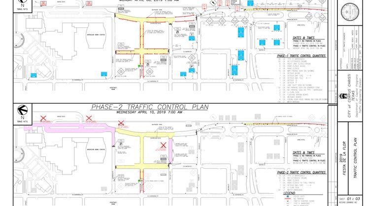 2019 FDLF Traffic Plan 1 & 2