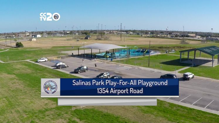 ADA-friendly playground features many attractions