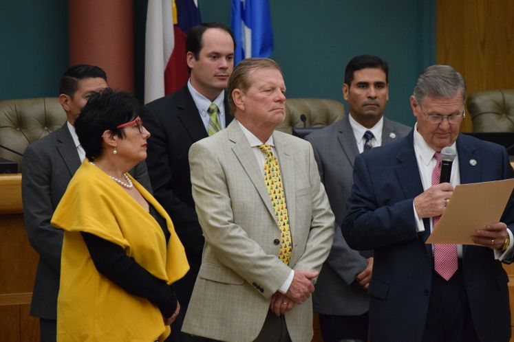 Council Commends Port of CC's John LaRue