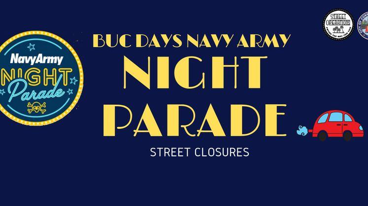Buc Days Parade Road Closures