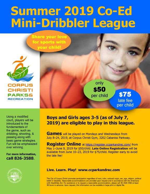 Mini-Dribblers Basketball League