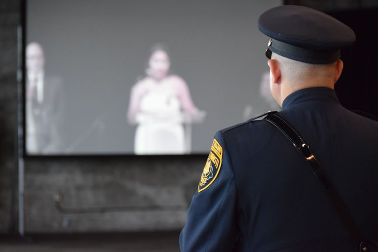 Peace Officers Ceremony