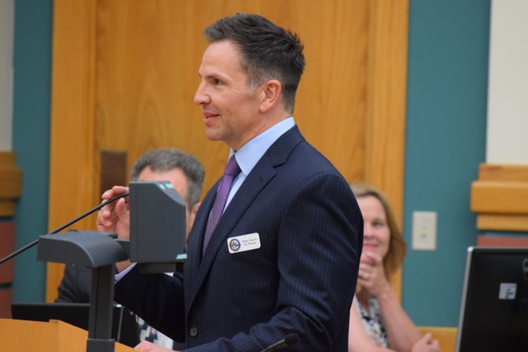 Peter Zanoni's First Council Meeting as City Manager