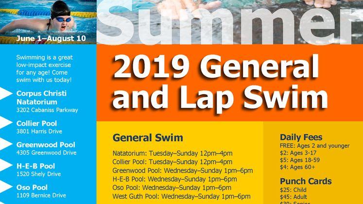 General and Lap Swim