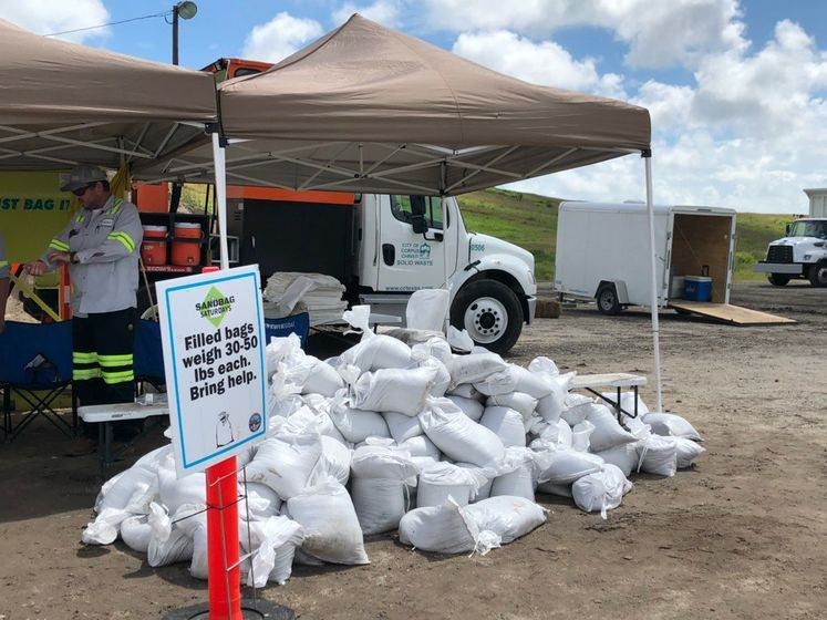 Sand bags Available at JC Elliott Collection Center