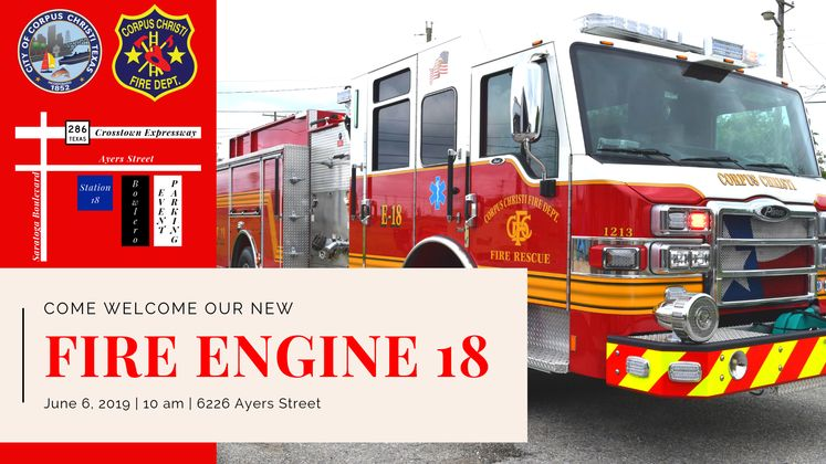 Engine 18 Dedication Invite