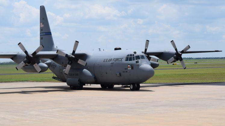 C-130 Arrives at CCIA