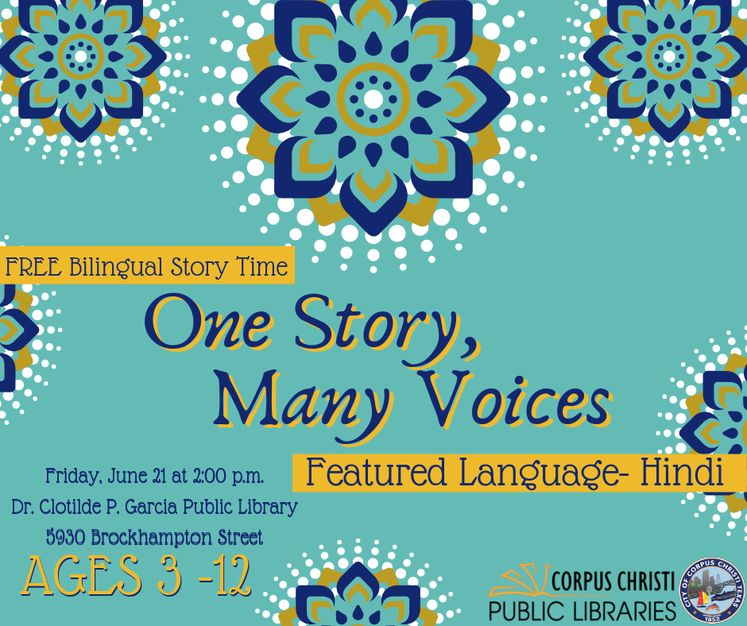 Graphic 6-19-19 One Story Many Voices